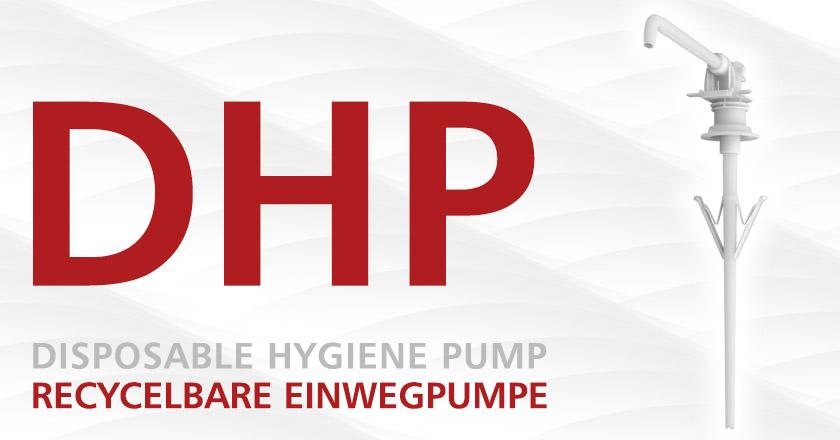 DHP Einwegpumpe für Eurospender