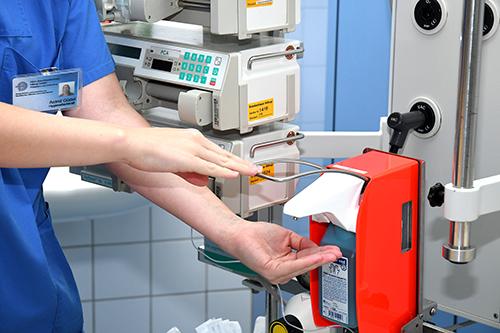 Herz-Jesu-Hospital Münster uses improved hand hygiene system