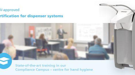 TÜV certification Dispenser Systems