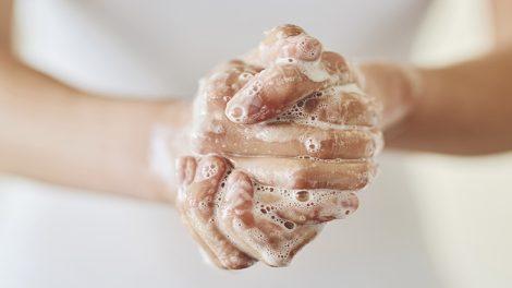 Infektionsschutz durch Händewaschen