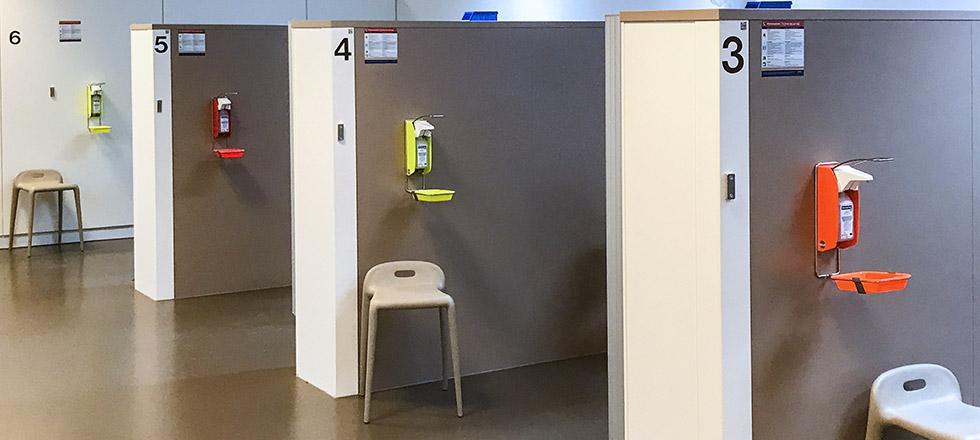 Erasmus MC ingo-man dispenser