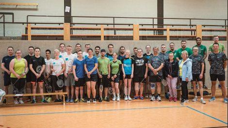 Badminton Turnier Charity