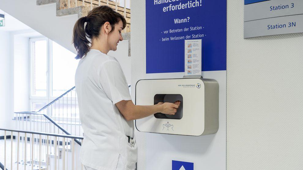 OPHARDT hygiene im HJK Münster