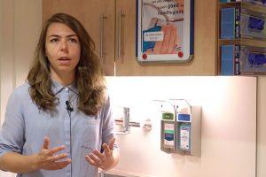 Hand hygiene nudging compliance OPHARDT