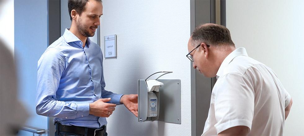 Händehygiene Gemeinschaftskrankenhaus Bonn