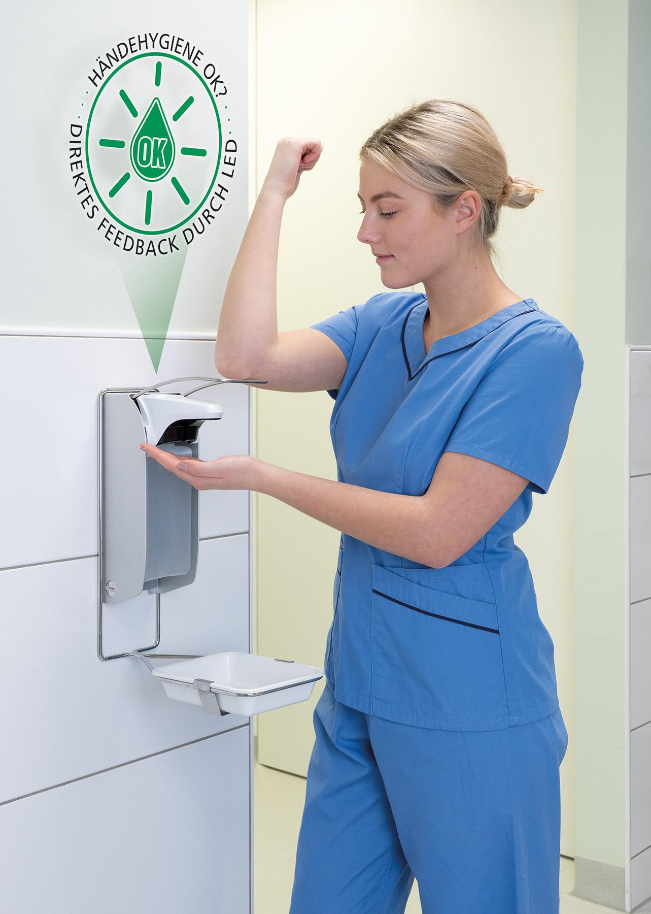 Hygienische Händedesinfektion mit OPHARDT