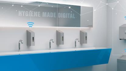 Ophardt Washroom Monitoring System