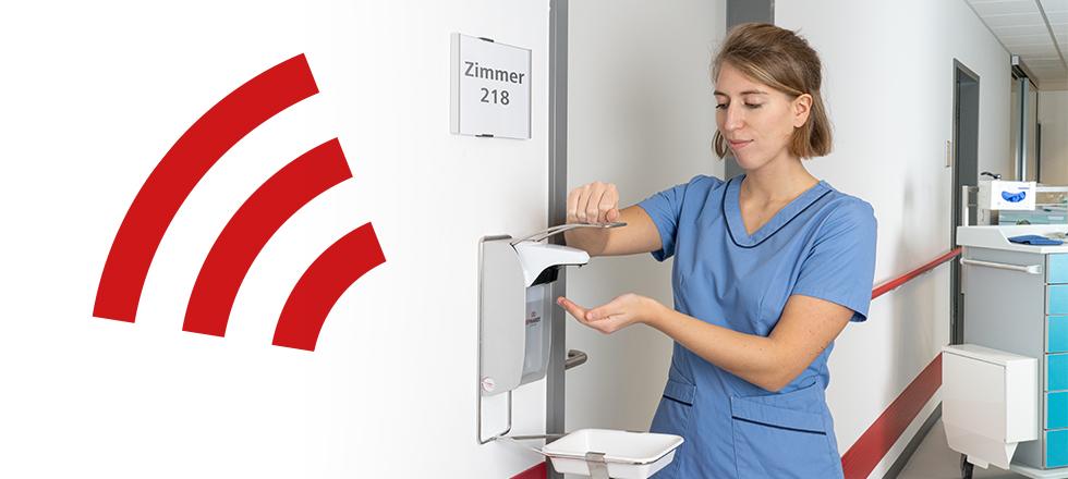 Krankenhauspersonal befürwortet Händehygiene-Monitoring