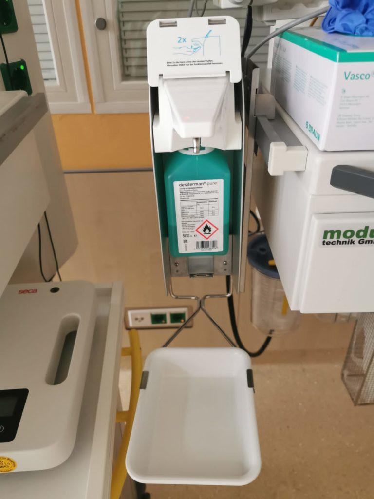 Die Händehygiene auf der Neonatologie mit OPHARDT.