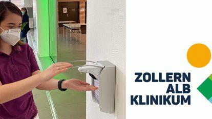 Hand hygiene with smartnose