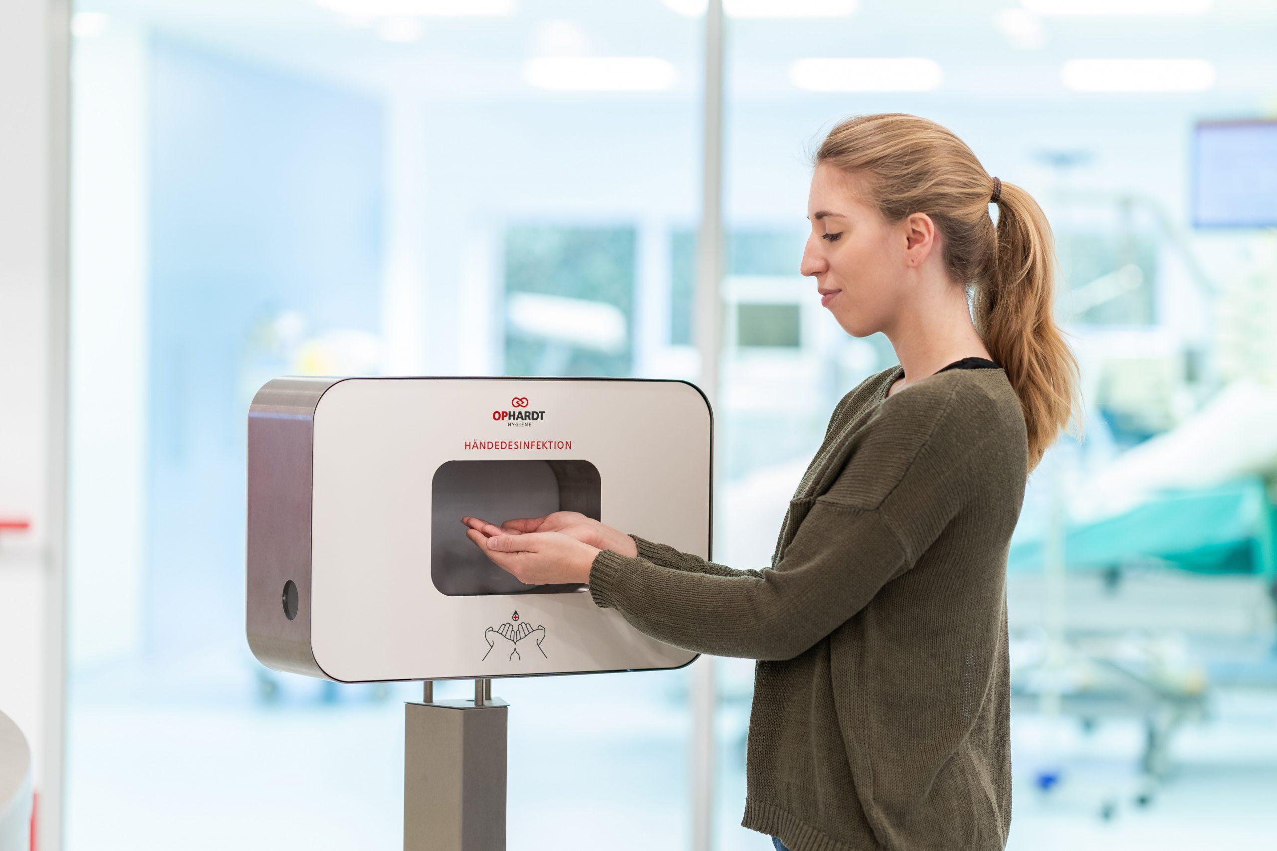 Praesidio hand disinfection in fitness centres