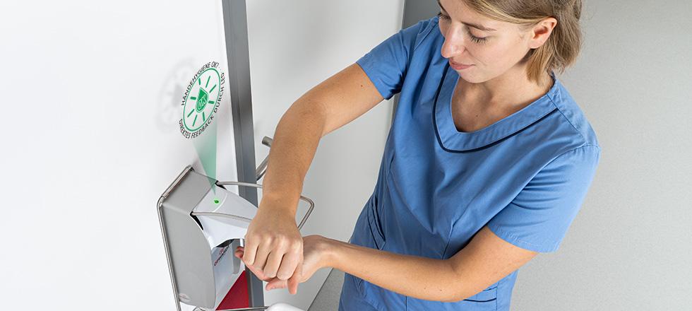 Feedback Krankenhauspersonal Händehygiene