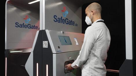 PRAESIDIO disinfectant dispenser
