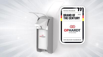 Brand of the century OPHARDT